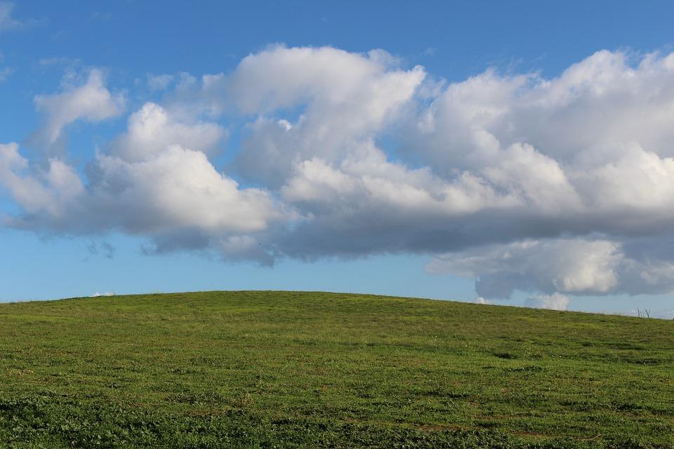 Panoramic, Nature, Grass, Sky, Landscape, Field