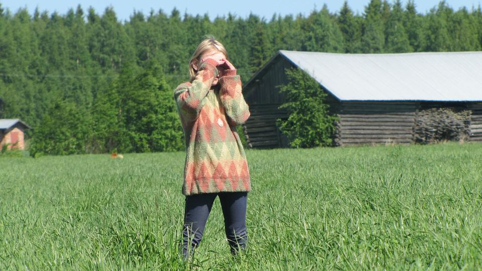 Man, Girl, Countryside, Field, Landscape, Agriculture