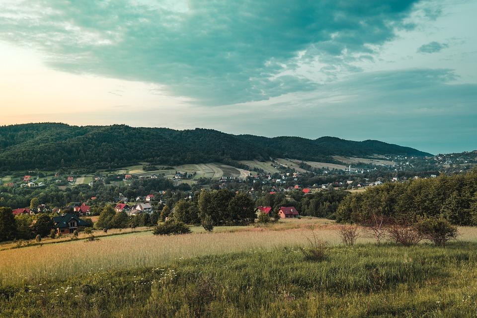 Poland, Village, Adventure, Nature, Landscape, Field