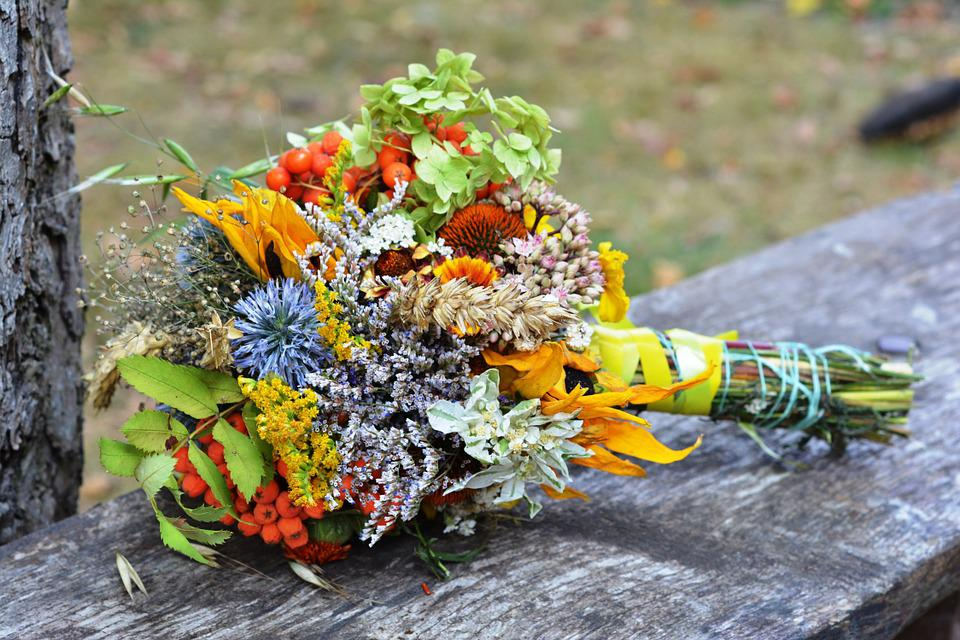 Bouquet, Herb, Herbs, Flowers Wildflowers, Field Plant
