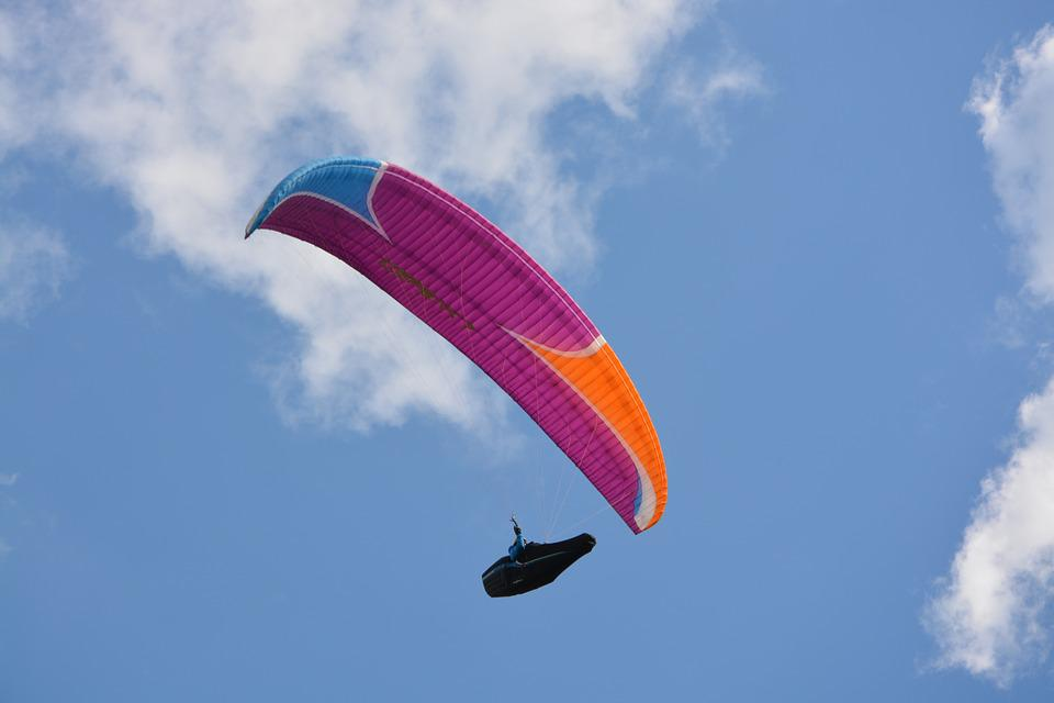 Paragliding, Paraglider, Fifth Wheel, Cocoon