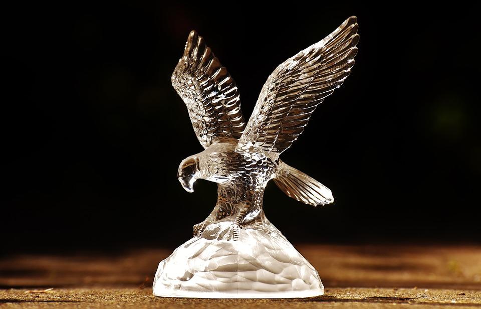 Raptor, Adler, Glass, Fig, Bird Of Prey, Animals, Bird