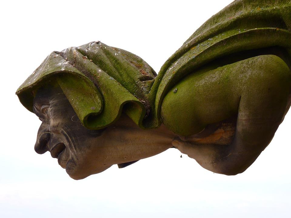 Gargoyle, Fig, Human