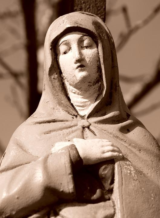 Fig, Mother Of God, Maria, Madonna, Christianity