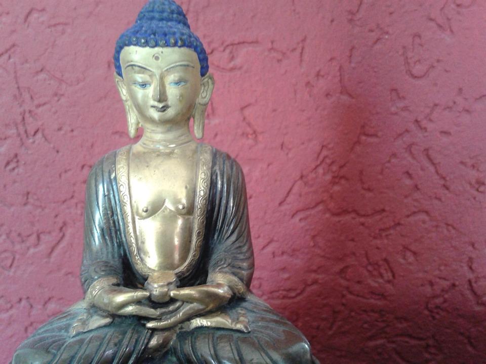 Buddha, Fig, Statue, Orient, Sculpture, Asia