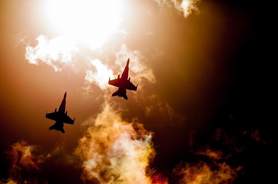 Jet, Fighter Jet, Raaf Hornets, Fighter Planes