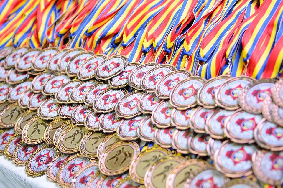 Medals, Karate, Sport, Martial, Gold, Fighter, Silver