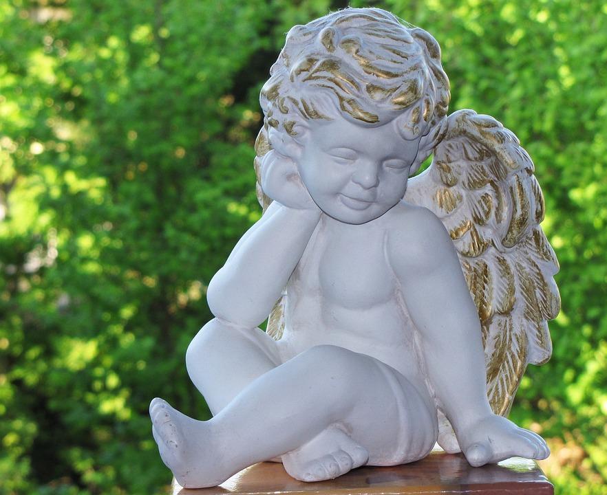 Angel, Harmony, Faith, Figure, Hope, Sculpture