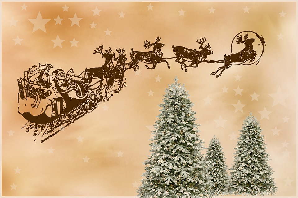 Santa Claus, Christmas, Christmas Motif, Figure, Winter
