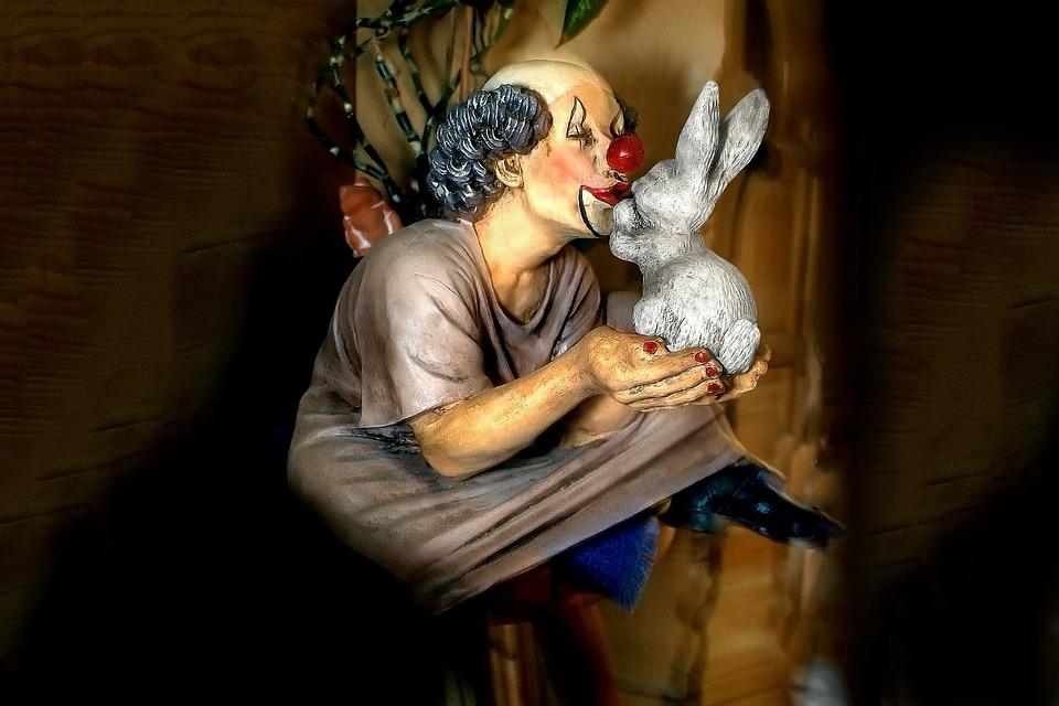 Clown, Clown Rabbits, Figure