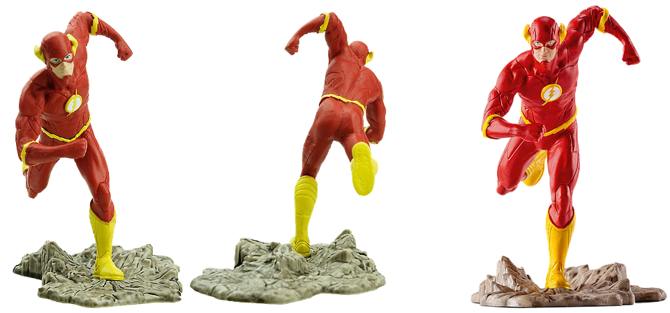Figure, Flash, Collectible, Isolated, Film Character