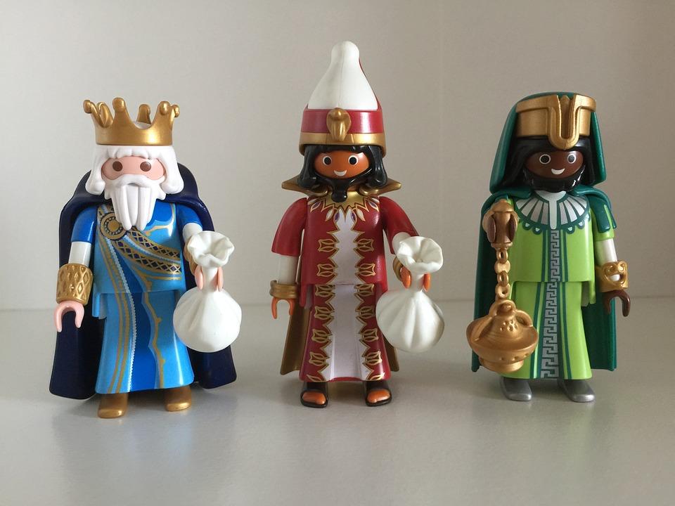 Playmobil, Figure, Toys, Melchor, Gaspar, Magi