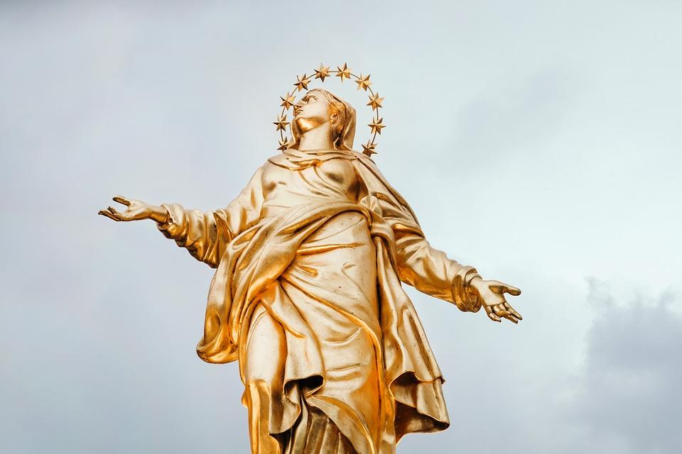 Ancient, Art, Daylight, Figure, Gold, Monument