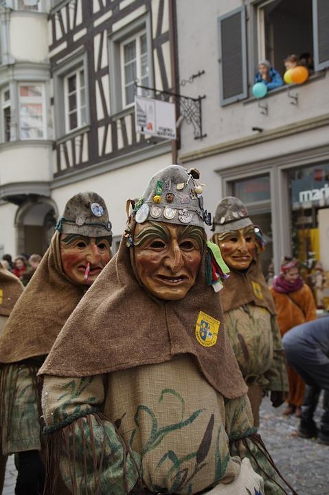 Face, Head, Figure, Fool, Haestraeger, Carnival
