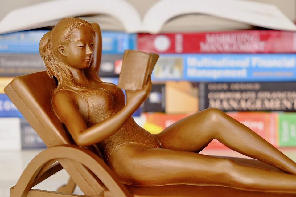 Books, Reading, Figure, Intelligence, Elegant, Silent