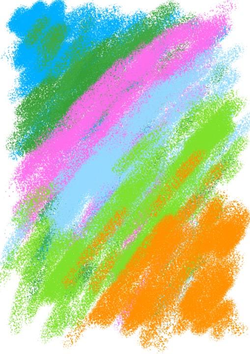 Pastel, Children's, Figure