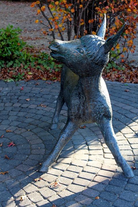 Sculpture, Donkey, Figure