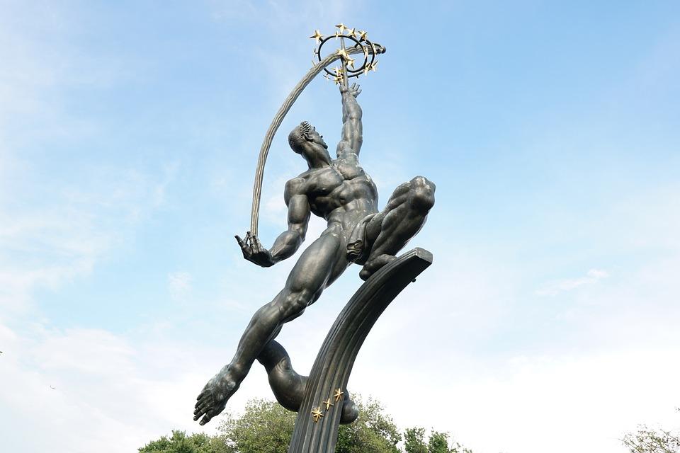 Metal, Statu, Statue, Figure, Sculpture, Artwork