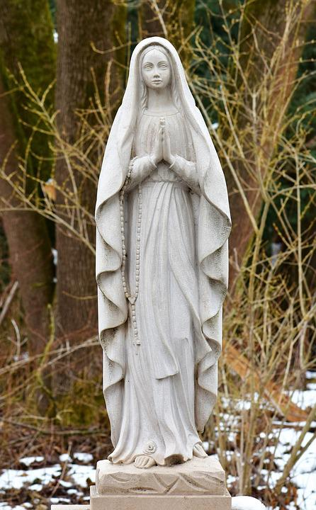 Statue, Holy, Figure, Religion, Sculpture, Stone Figure