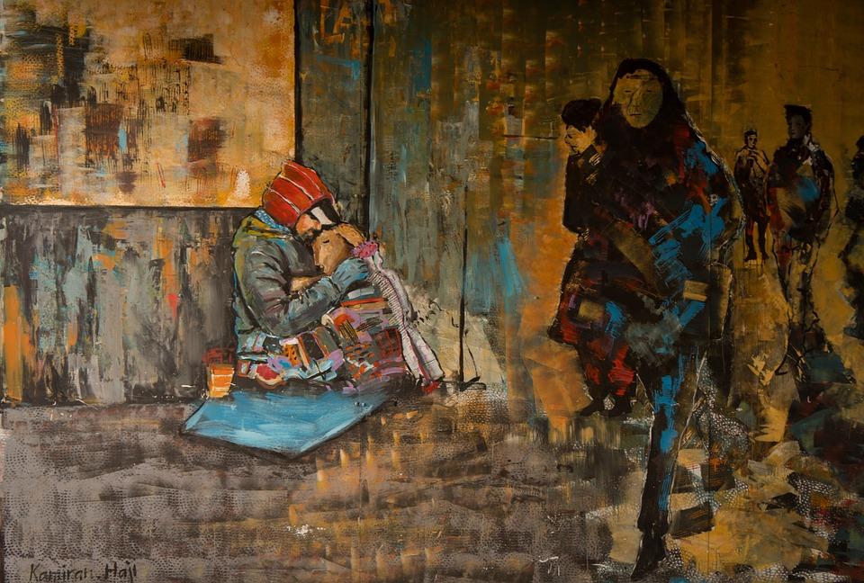 Graffiti, Human, Decoration, Painted, Wall, Art, Figure