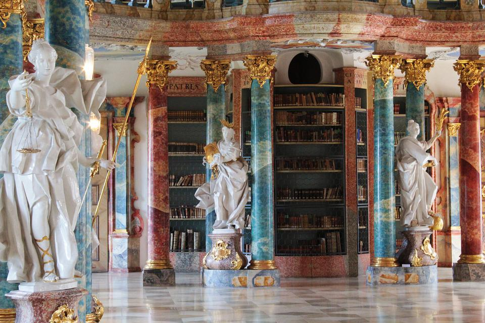 Wiblingen, Monastery, The Monastery Library, Figure