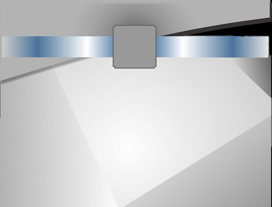 Background, Grey, Blue, Figures