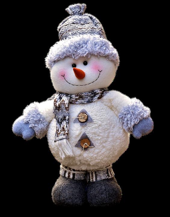 Snow Man, Figure, Christmas, Decoration, Figures