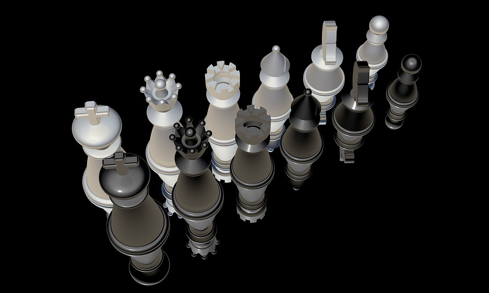 Chess, Chess Pieces, Figures, King, Springer