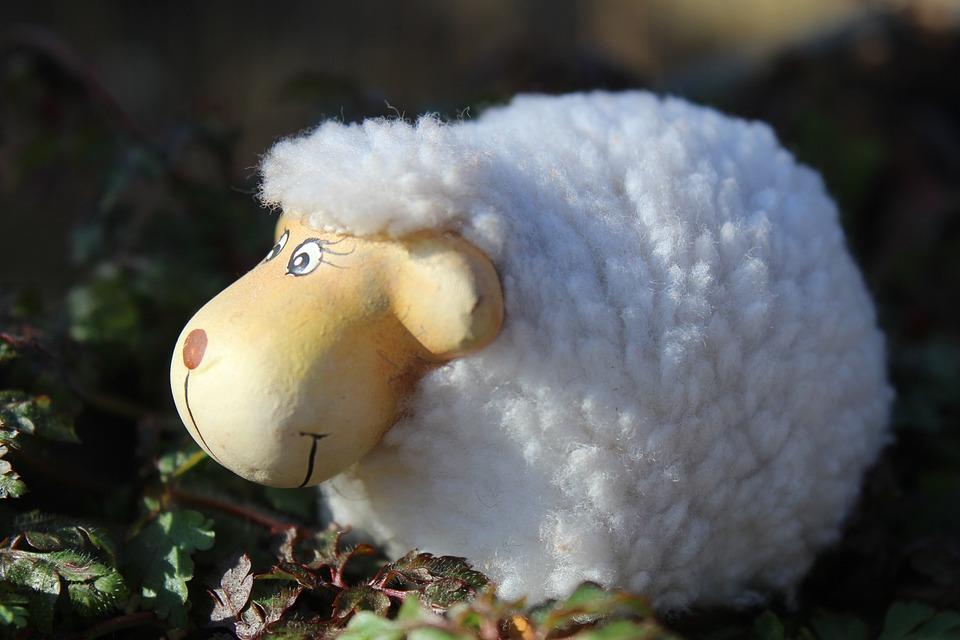 Sheep, Figures, Stone Figures