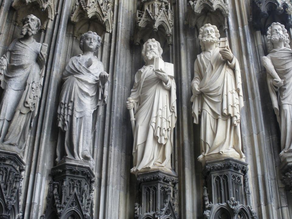 Holy, Sculpture, Dom, Figures, Domfiguren, Stonemason