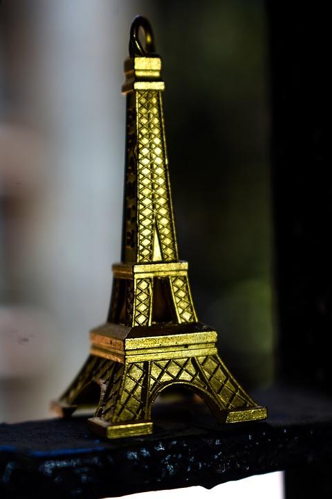 Eiffel Tower, Figurine, Statuette, Statue, Ornament