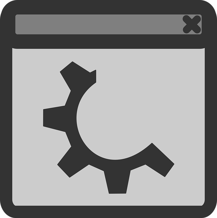 File, Gear, Window, Sign, Symbol