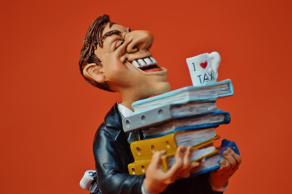 Tax Consultant, Office, Files, Funny, Bureaucracy