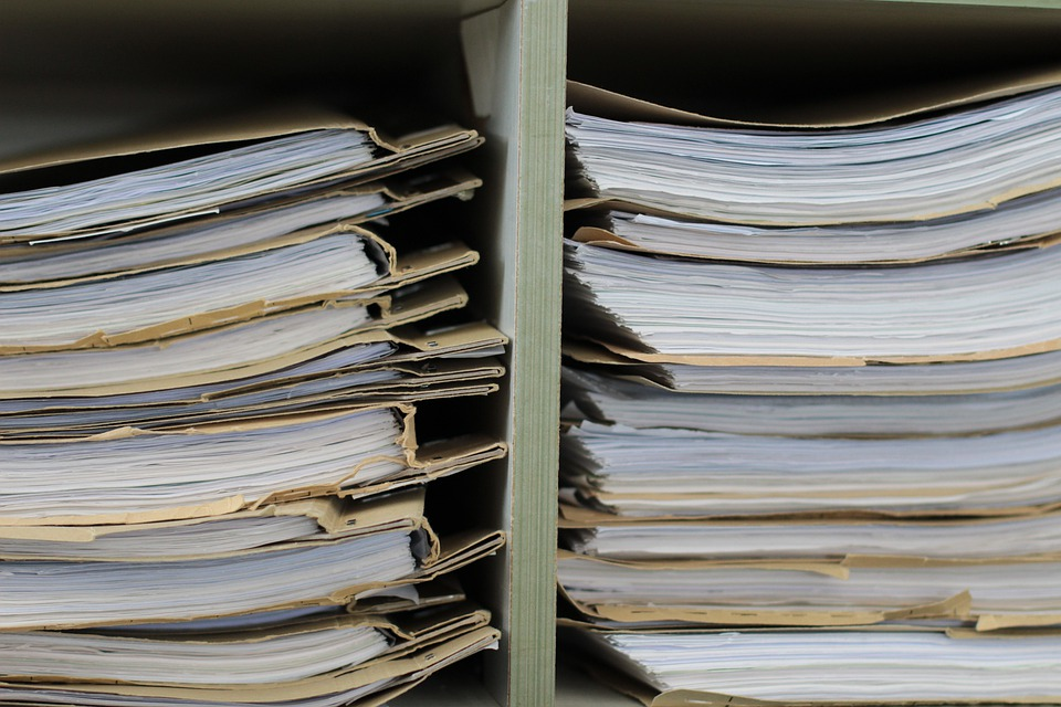 Files, Files Shelf, Paper, Office, Planning, Write