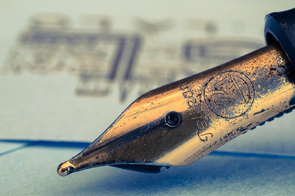 Fountain Pens, Fountain Pen, Filler, Ink, Write
