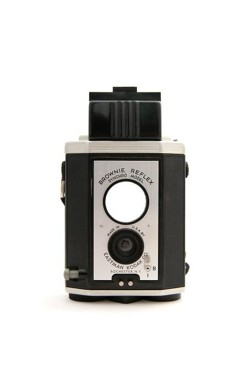 Kodak, Camera, Film, Brownie Reflex, Picture, Black