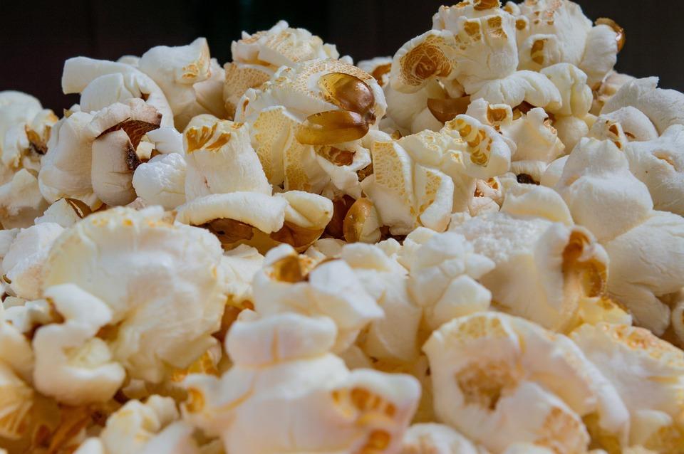 Popcorn, Cinema, Corn, Food, Snack, Movie, Eat, Film