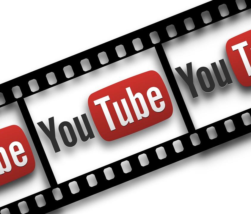 Film, Filmstrip, You, Tube, You Tube, Icon, Play Button