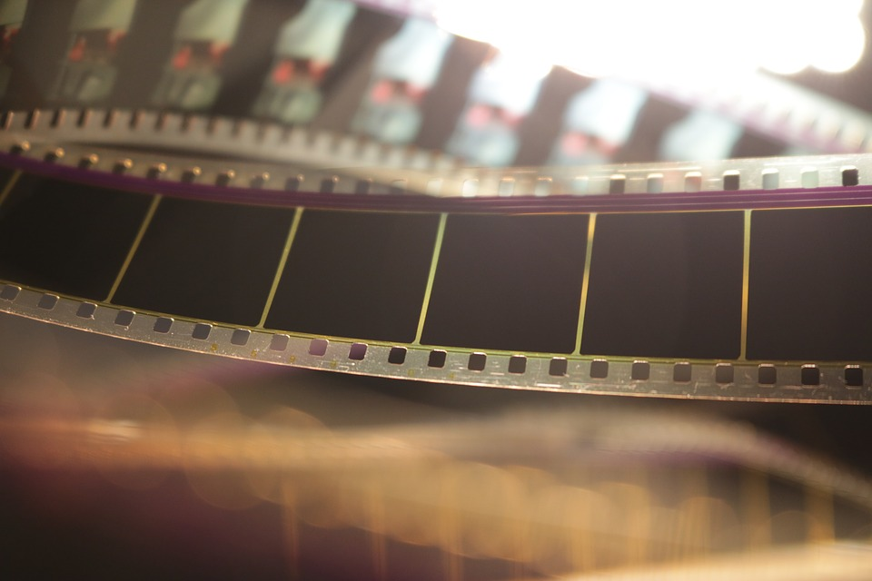 Film 35mm, Film Roll, Filmstrip, Cinema, 35mm