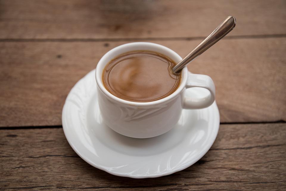 Coffee, Cup, Saucer, Teaspoon, Filter Coffee, Milk