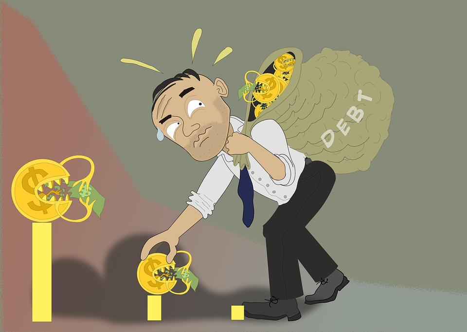 Debt, Loan, Credit, Money, Finance, Expenses, Budget