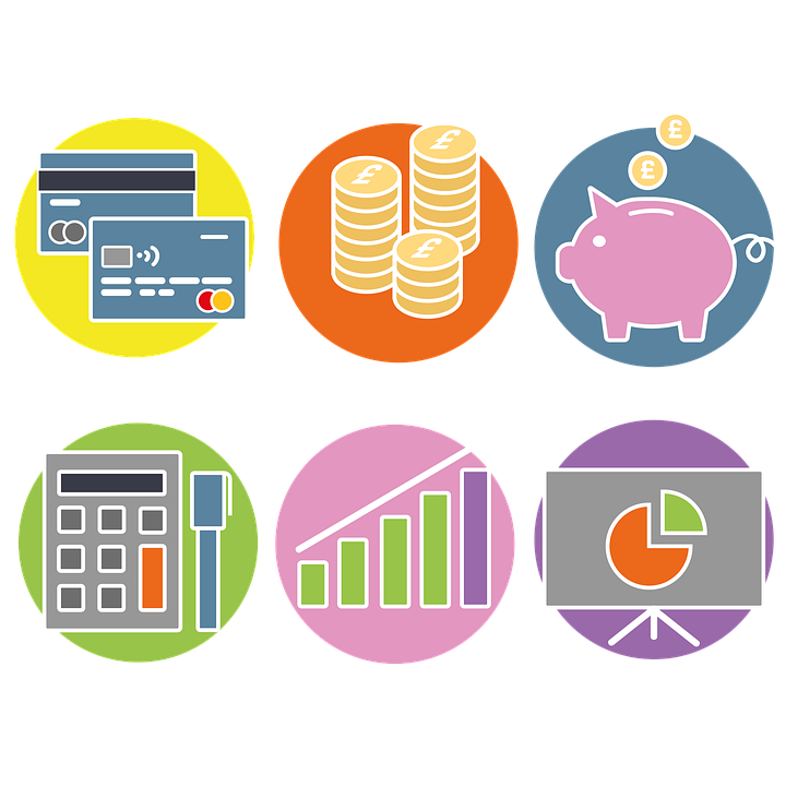 Finance Icons, Financial Icons, Finance, Money Icon
