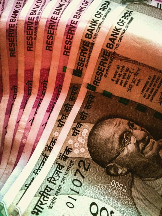 India, Currency, Money, Rupees, Finance, Cash, Economy