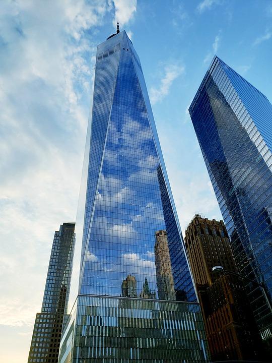 Wtc, Finance, World Trade Center, Building
