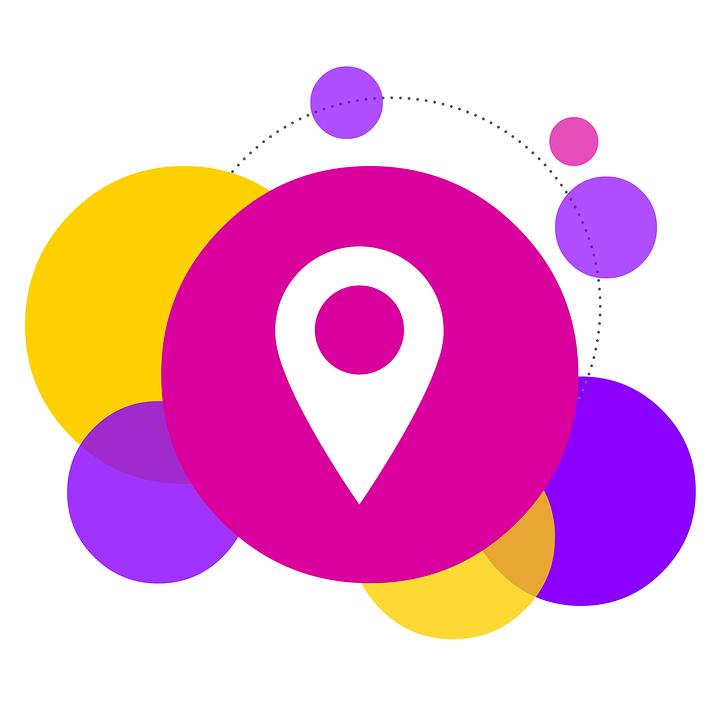 Bubbles, Locate, Location, Find, Social Media