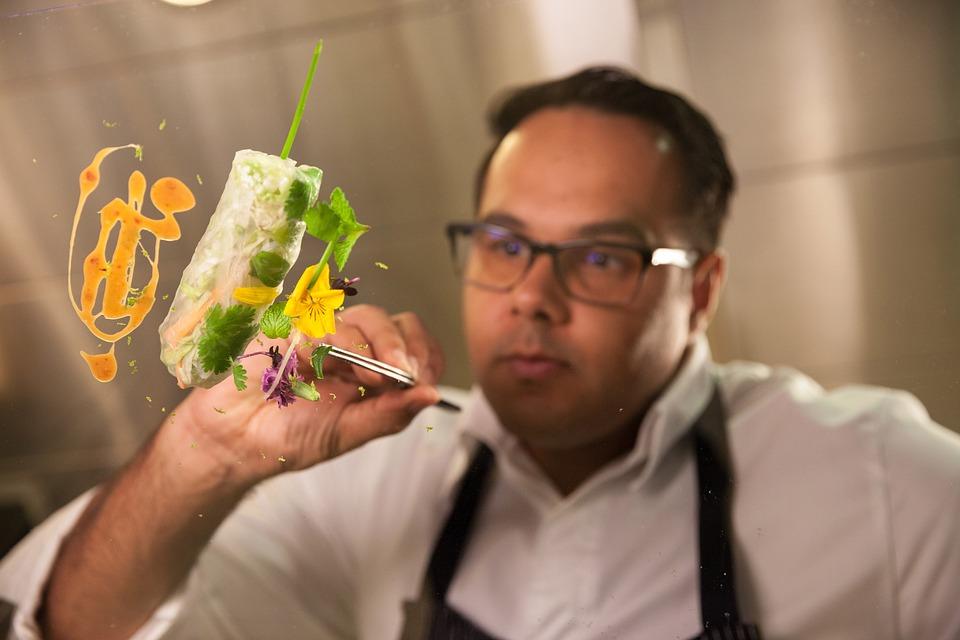 Platting, Fine Dining, Vegan, Michelin Star, Smoking