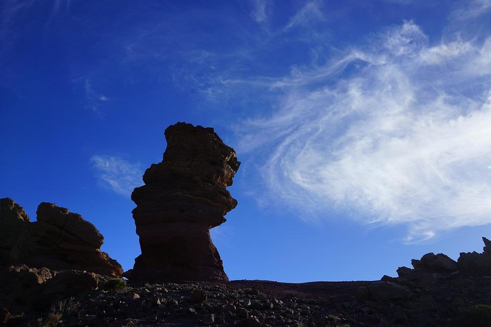 Roque Cinchado, Stone Tree, Finger Of God, Rock Tower