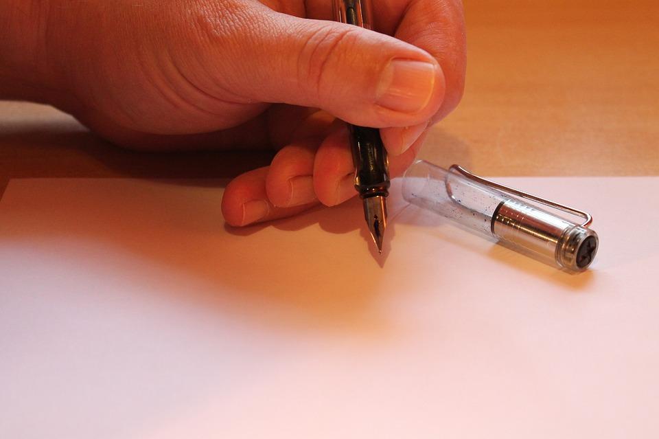 Hand, Filler, Leave, Finger, Letters, Paper