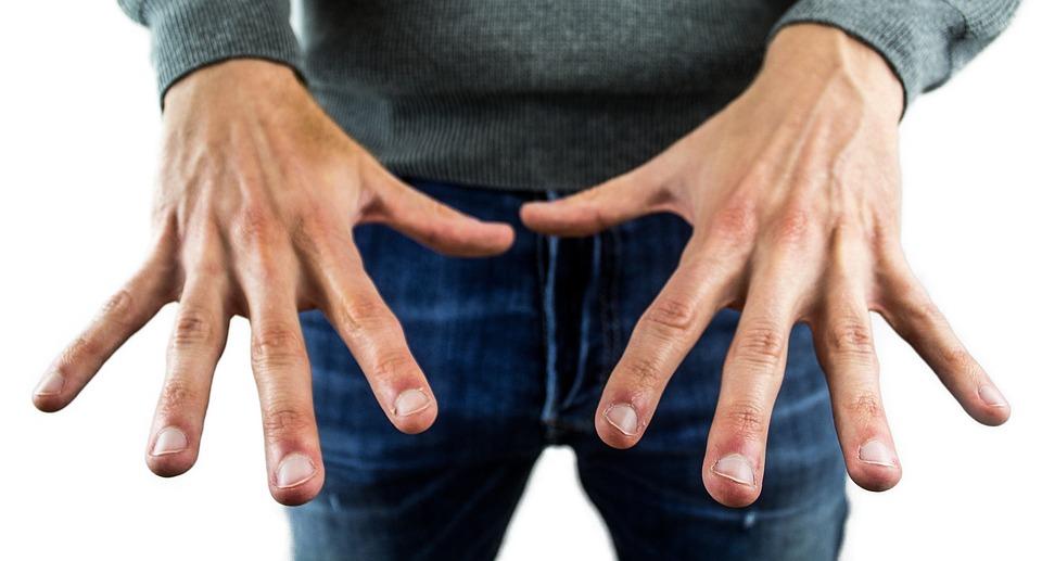 Hands, Fingernails, Finger, Finger Nail, Man, Manicure