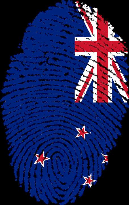 New Zealand, Flag, Fingerprint, Country, Pride